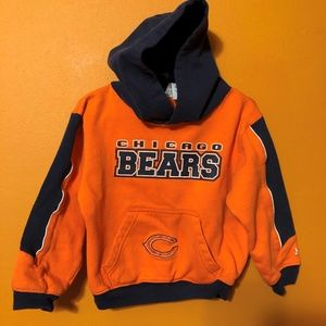 4T CHICAGO BEARS HOODED SWEATSHIRT